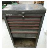 Craftsman rolling tool box with tools