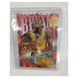 Kobe Bryant rookie card, mint