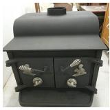 25x23x25 Woodland wood stove, nice inside and out