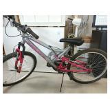 MTN bike Huffy dual suspension