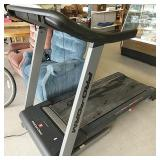 Pro-form treadmill, space saver works
