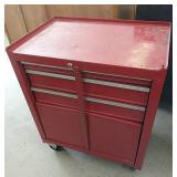 Rolling tool box USA with tools