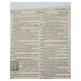 5x antique Bible pages