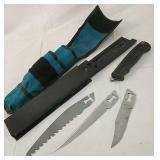 Kershaw 3 blades knife kit, Japan
