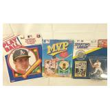 Jose Canseco collectibles x3