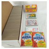 1988 baseball cards collection