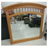 4 ft wood framed mirror