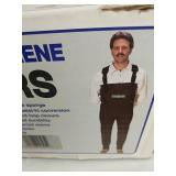 New in box hip waders L
