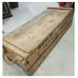 41*15*11 wood foot locker