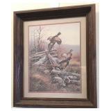 "20x 17.5 "" pheasant print"