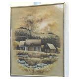 "16x 20"" homestead print"