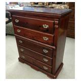 Beautiful large five drawer dresser