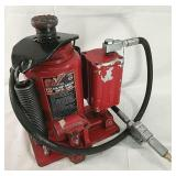 20 ton air over hydraulic jack, works