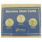 Wartime steel pennies
