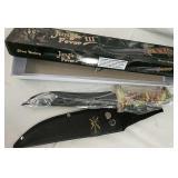 """New in box 8"""" knife"""