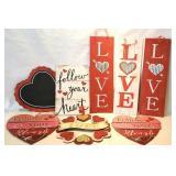 Inspirational/Valentine wooden wall decor