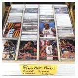 Over 3000 basketball cards