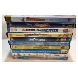 10x DVDs family