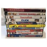 10x comedy DVDs