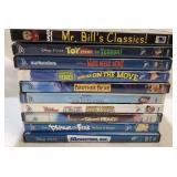 10x DVDs kids