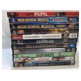 11x DVDs