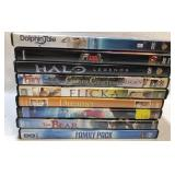 9x DVDs family