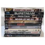 10x DVDs
