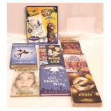 Various book bundle