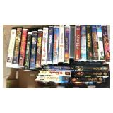 25x VHS family movies