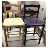 2x tall chairs-inspect