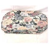 7x cloth plate mats