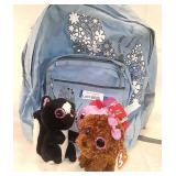 Backpack with buddies