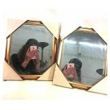 2x mirrors