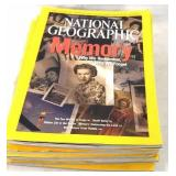 7x national geographic magazines