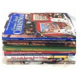 9X holiday craft/sewing books
