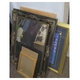 11 pictures picture frames and mirror
