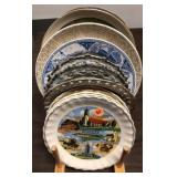 13x collector plates with stand