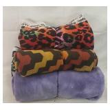 4x rolls of soft fabric