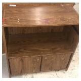 Wooden shelf 29.5x16x30 inches inspect