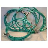 4x short garden/ lawn hoses
