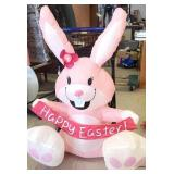 Happy Easter inflatable yard decor