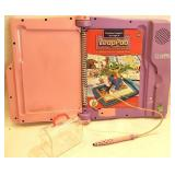 Leap pad learning system with cartridge carrying