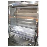 Stainless Steel Grab-N-Go Refrigerated Cases