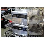 Ovention Double Stack Conveyor Pizza Oven
