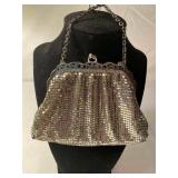 Vintage Whiting and Davis Silver Mesh Bag