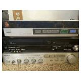 Mixture of VHS/Stereo Equipment
