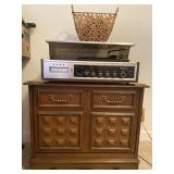 Zenith Turntable/Record Cabinet