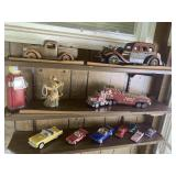 Vintage Toy Car Lot