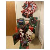 Large Lot of Christmas, Mr. and Mrs. Claus