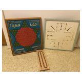 Vintage Wooden Game Lot